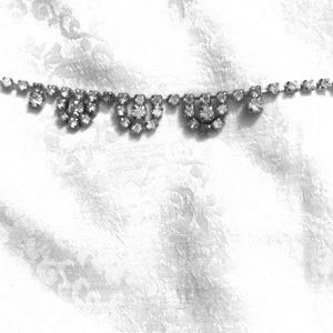 Jewelry - Antique vintage rhinestone necklace
